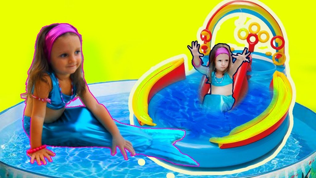 Bad kid Mermaid transform Playground for Kids Nursery rhyme vs  MAGIC TOY kids song