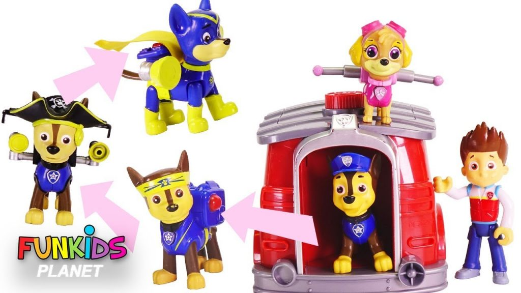 Learning Colors for Kids: Paw Patrol Magic Pup House Changes into Super Pups and Cowboys