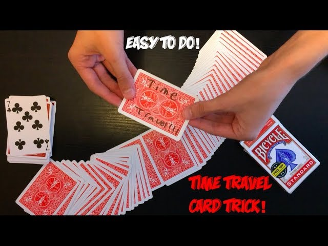 Time-Traveling Shocking Beginner Card Trick: Performance And Tutorial!