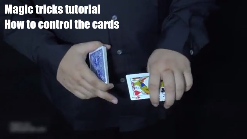 Magic tricks tutorials- How to control the cards-Simple magic