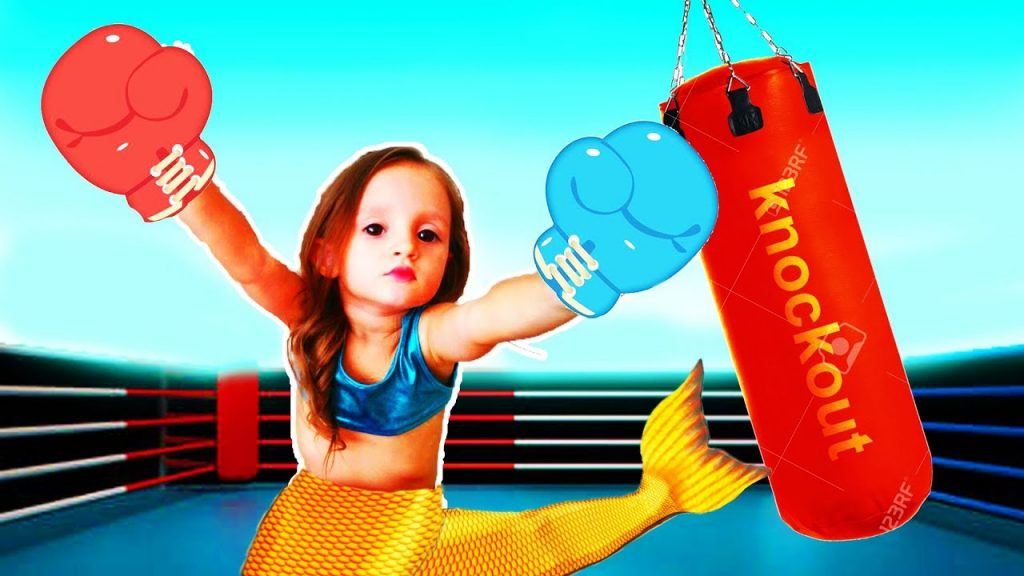 Bad Kid Magic Transform The Mermaid Outdoor Playground Colors Song for Kids Educational Video