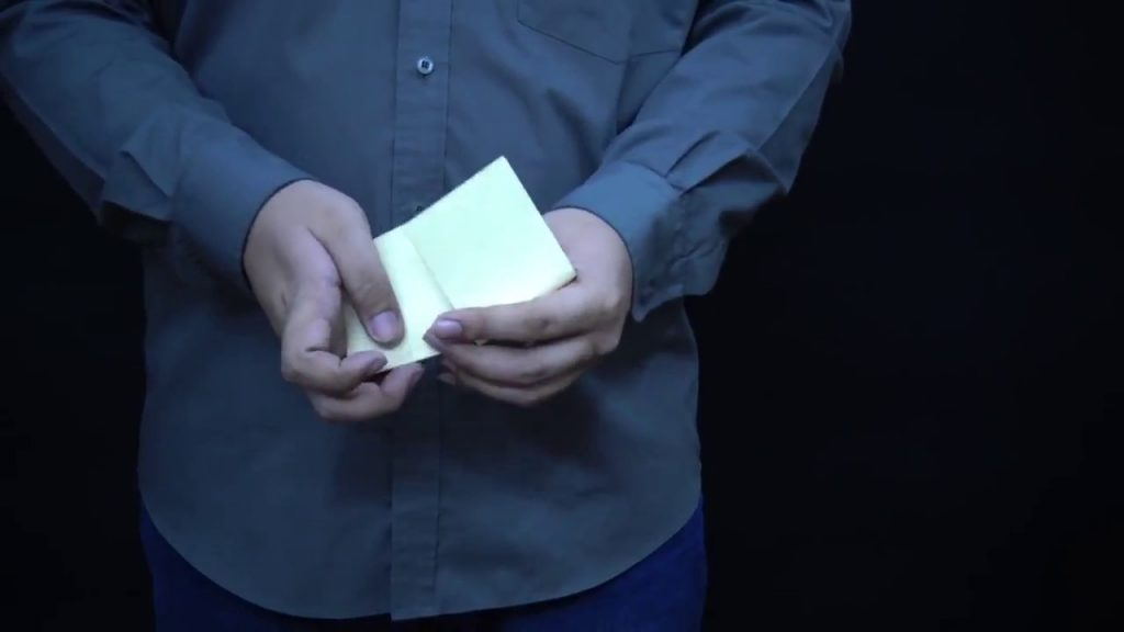 Magic tricks tutorials- How to change paper to money -Simple magic