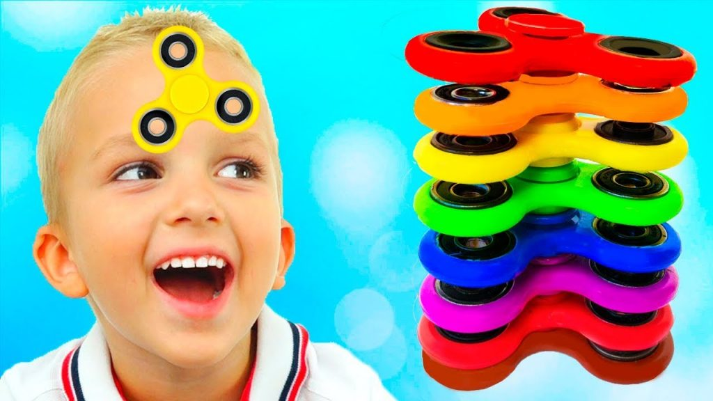 Bad Baby Magic Fidget Spinner Compilation Learn Colors & Nursery Rhymes Songs for kids