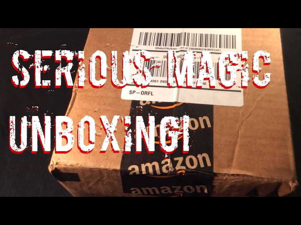 Serious Magic Unboxing! – Playing cards