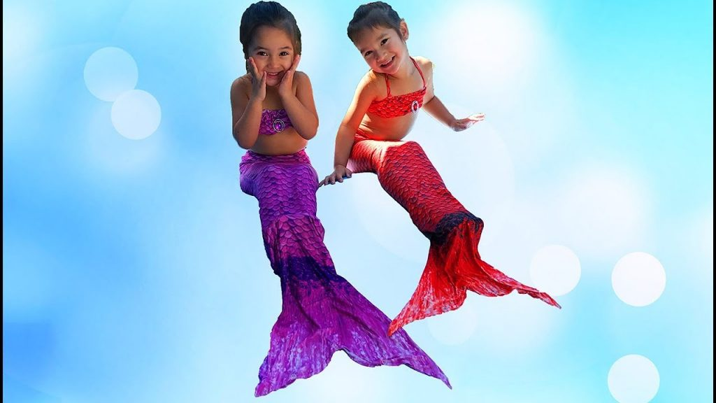 The Mermaid Magic for kids Songs JOHNY JOHNY Yes Papa Nursery Rhymes Indoor Playground playing kids