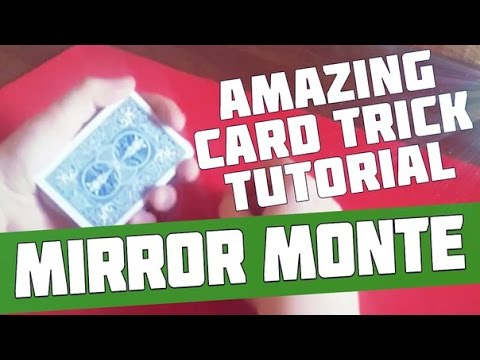 Amazing Card Trick Tutorial. Very Cool Card Trick – Mirror Monte