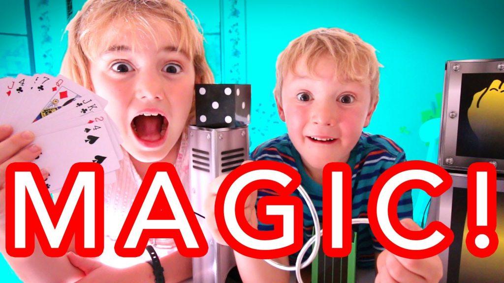 Kids Learn Magic Tricks