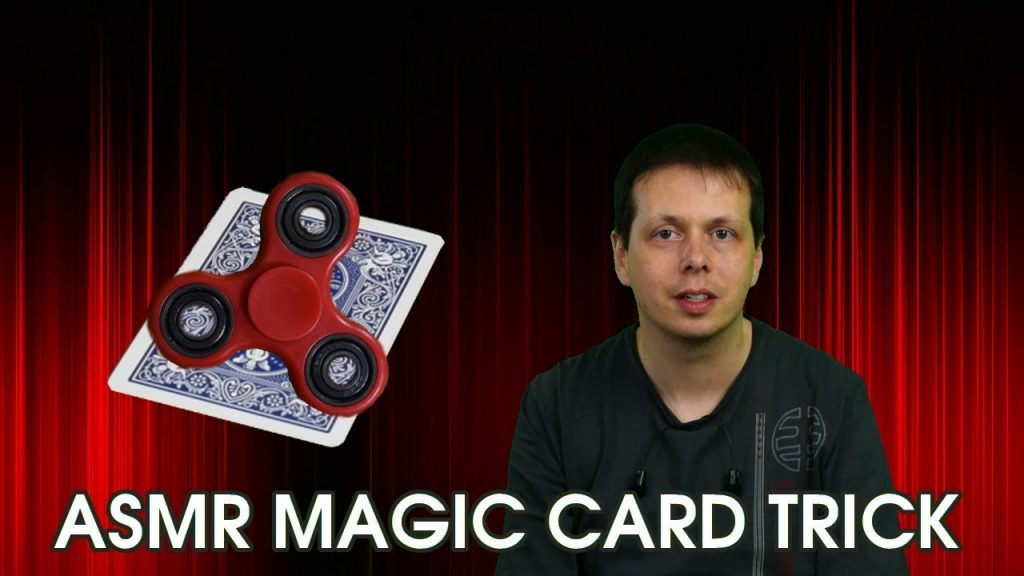 ASMR Magic Card Trick – Spin for the Cards