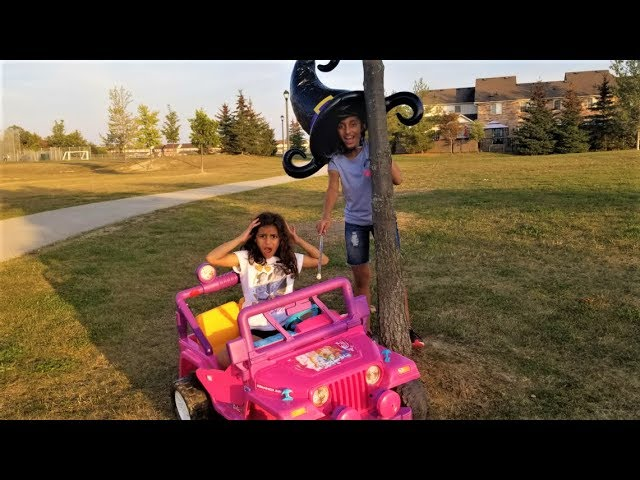Bad Kids Magic Little Driver on Power Wheels Cars! Transform Colored Cars-Family Fun Toys for kids
