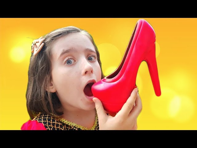 Magic Princess Transform Chocolate Shoe * Kids Fun Video