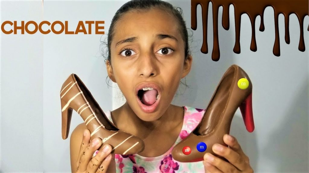 Bad Baby MAGIC Chocolate shoe!! bad kids freaks out family fun pretend play