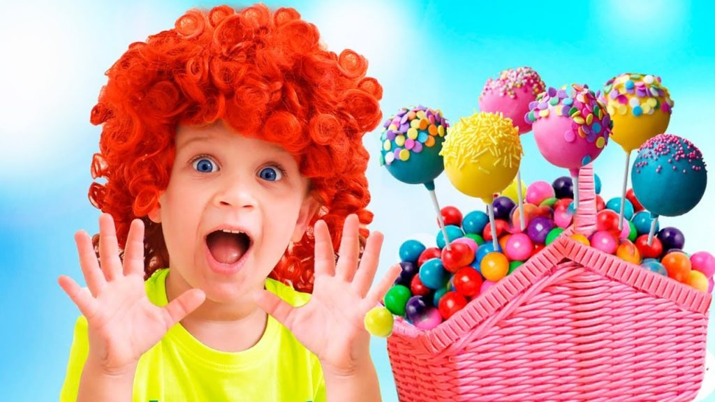 Bad Kid steals Magic CANDY, learn colors with Finger family song for kids