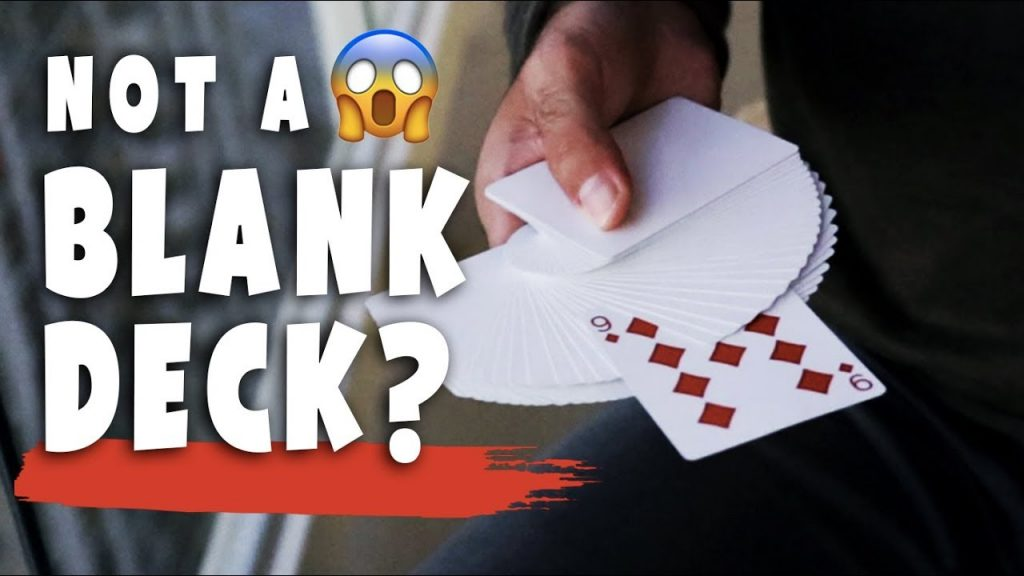 Learn the BLANK DECK magic trick with a REGULAR DECK!