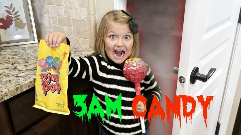 BAD KIDS STEAL CANDY AT 3AM!! | BAD BABY MAGIC!