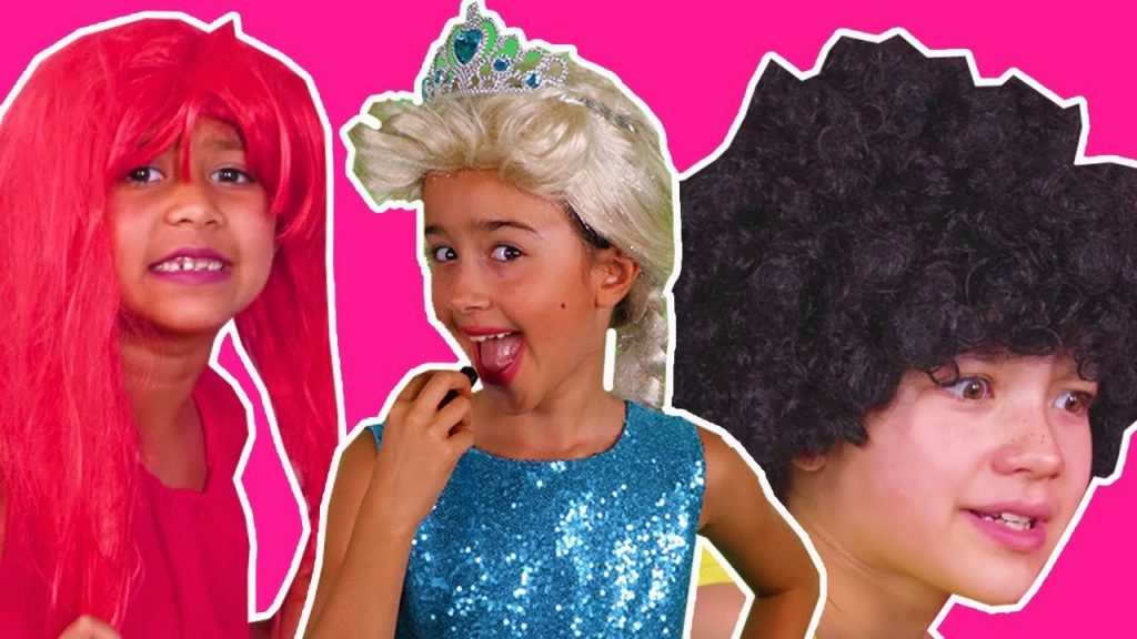 PRINCESSES GET READY FOR PRINCESS PROM Magic Pranks In Real Life Hair Disaster In Real Life Dress Up