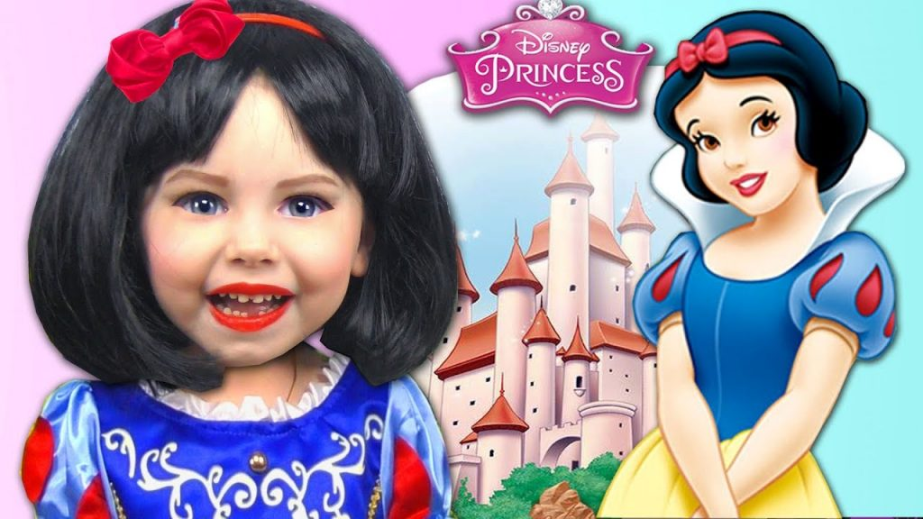 Learn colors with Baby Songs Snow White Magic Transform Finger family song Kids nursery rhymes Child