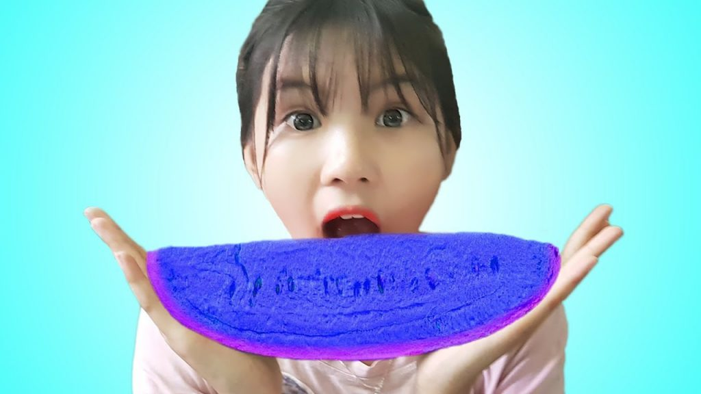 Bad Baby Learn Colors With Gummy Watermelon Color Magic Toys For Kids Songs Nursery Rhymes