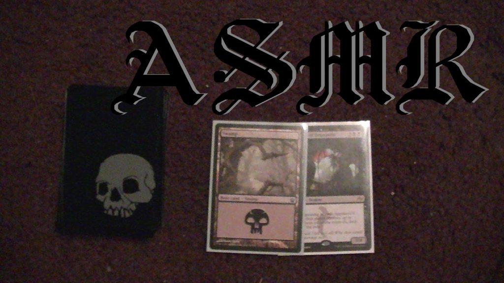 ASMR Mumble: Semi-Inaudible Examination of Magic The Gathering Cards