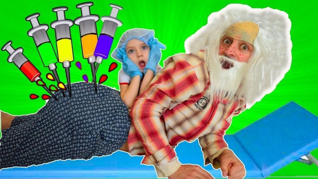 Bad Kids Вредные Детки Magic Transform Doctor toys Family Fun Kids Song Nursery Rhymes for Children