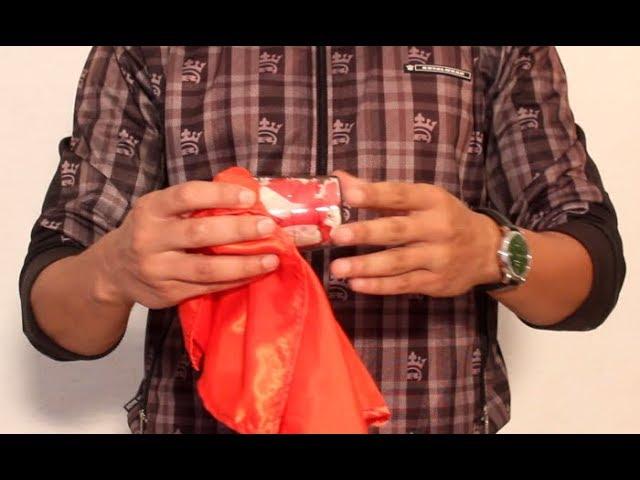 تعلم العاب الخفة # 622 ( المنديل المحبوس  )  magic trick revealed