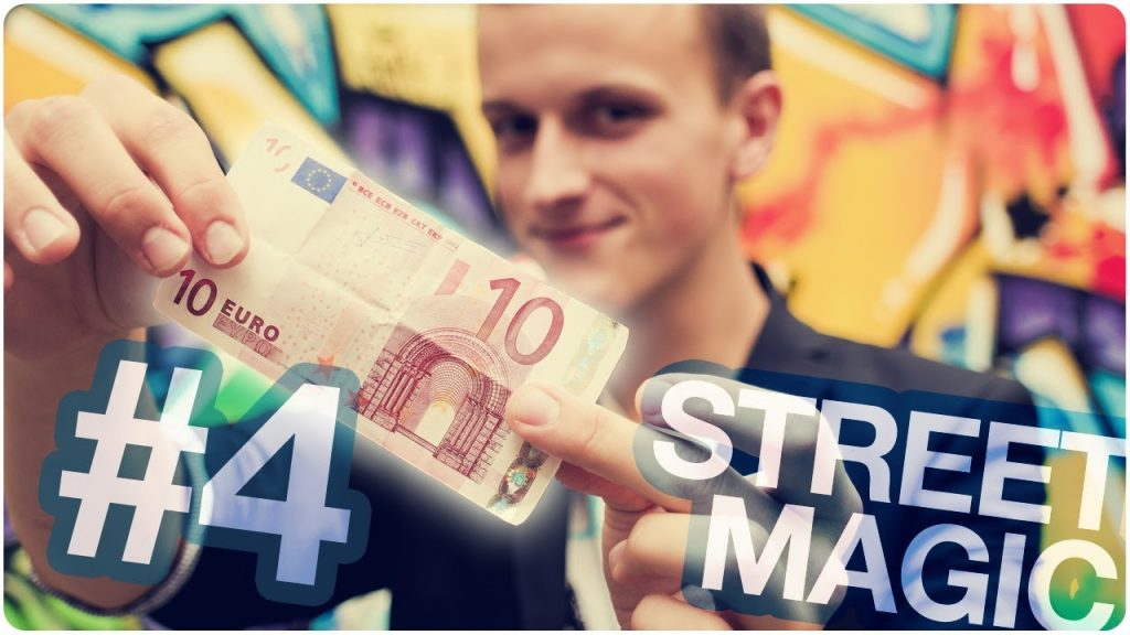 Geldschein in Kaugummipackung!!! | Magical Money [ STREET MAGIC #4 ] | mit Lucas Kaminski