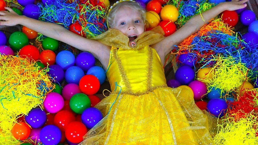 Bad baby Learn colors with magic balls nursery rhymes video for kids and Finger Family song