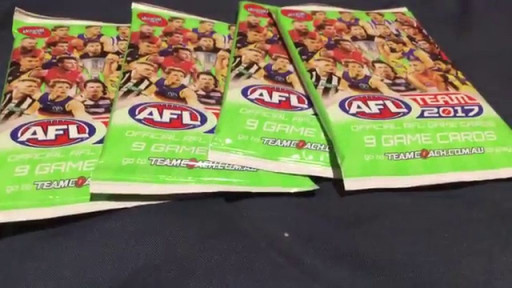 AFL Teamcoach 2017 – 4 packs (magic wildcard)