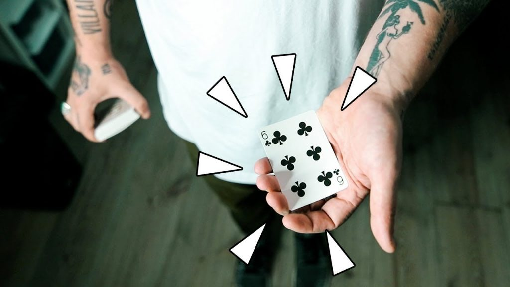 How to STEAL a playing card from the deck! – Sleight of Hand Tutorial