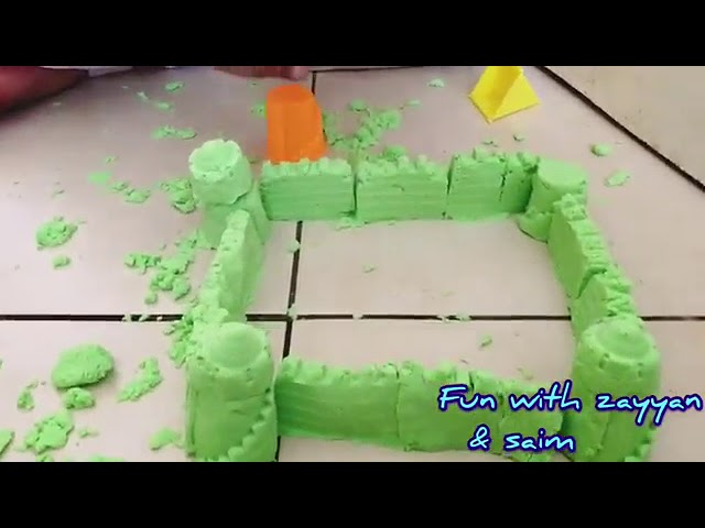 Magical Sand   Fun Magic For Kids   How To Make A Sandcastle   YouTube 360p