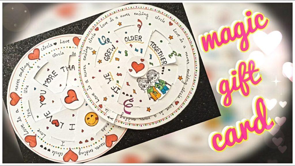 DIY :  magic love card    how to make magic love card   gift for love