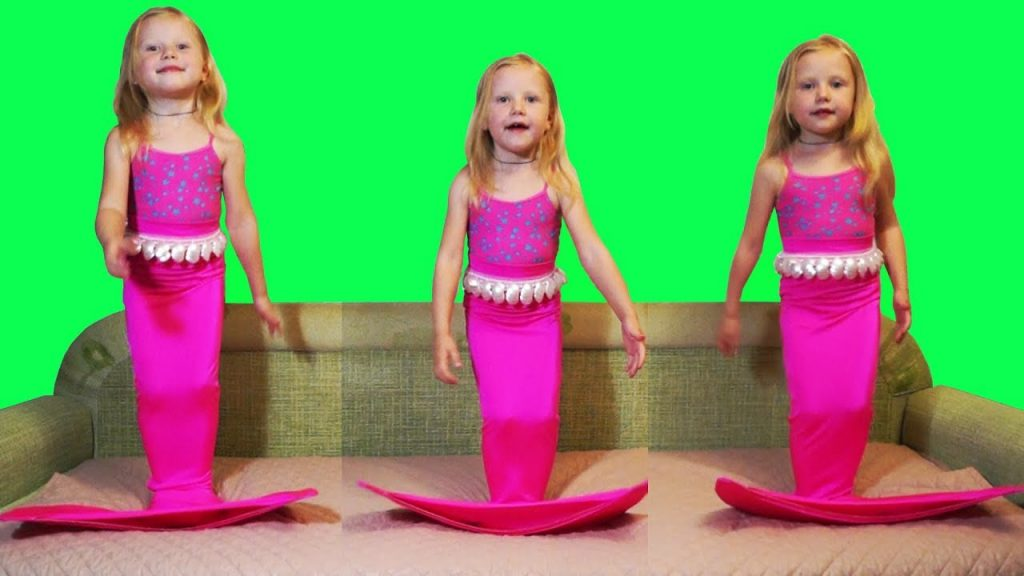Bad Kid Magic Transform The Mermaid in pool Learn Colors for Kids Nursery rhyme for Kids song