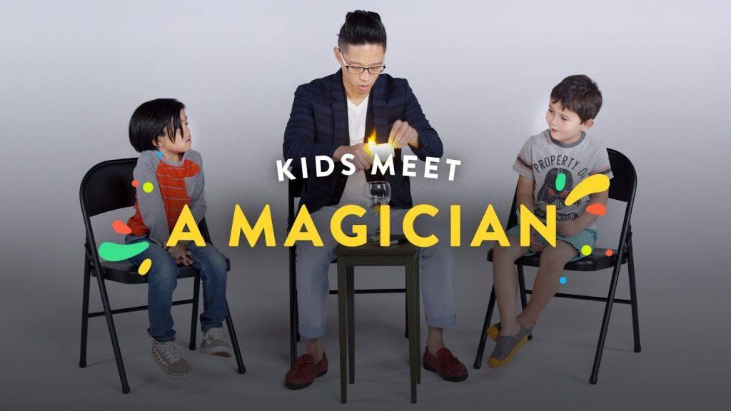 Kids Meet a Magician!