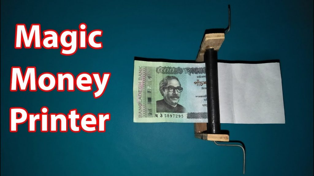 How to Make a Money Printer Machine | Easy way | Magic tricks