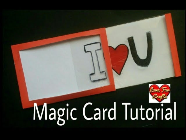 How to Make Magic Card | Magic Card Tutorial | DIY – Valentine's Day Card