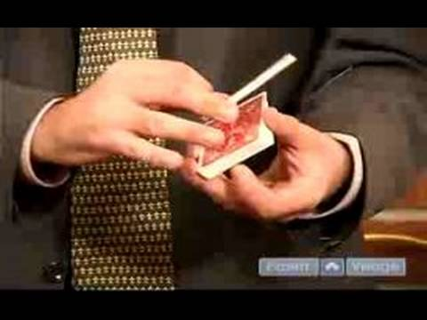 Magic Card Tricks for Beginners : False Cut Magic Card Trick
