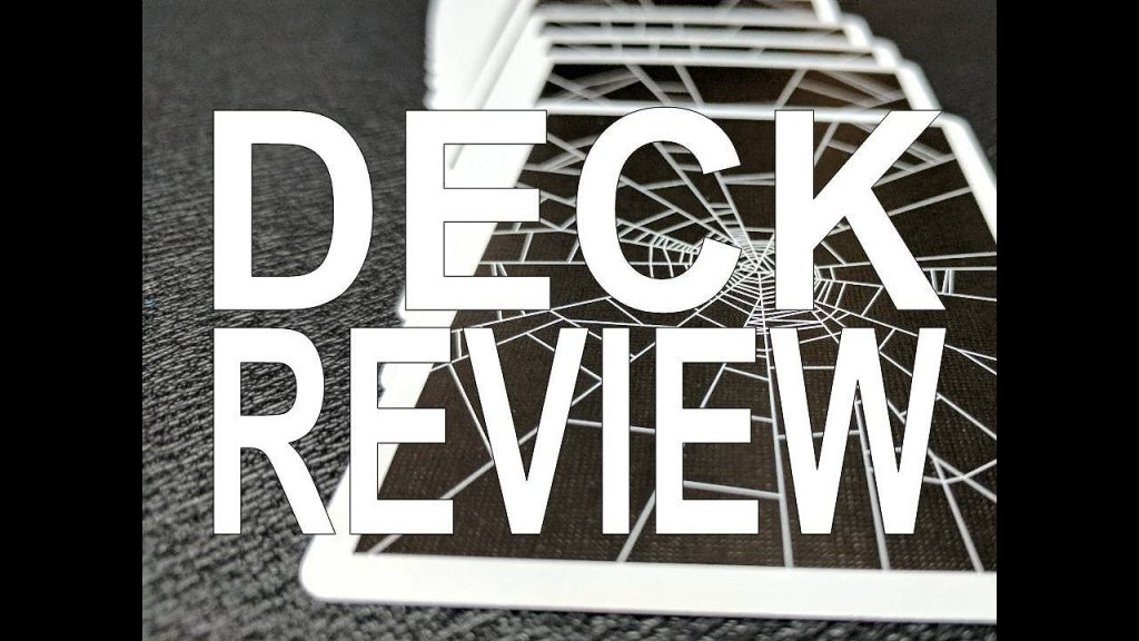 Deck Review – Spider Web Playing Cards – Penguin Magic
