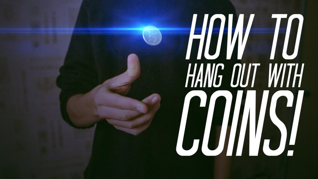 Learn Coin Magic : HANG COINS IN MID-AIR! – Coin magic TUTORIAL
