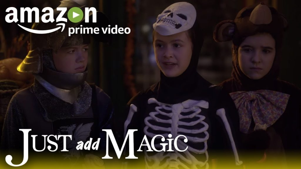 Just Add Magic Season 2 – Clip: Halloween Hijinks | Amazon Kids