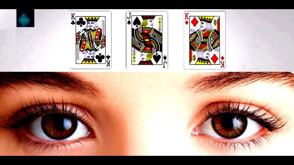 Mind Playing Tricks on Me Magic Trick with Cards WITH Eyes | Just See on Eyes in Magic Video