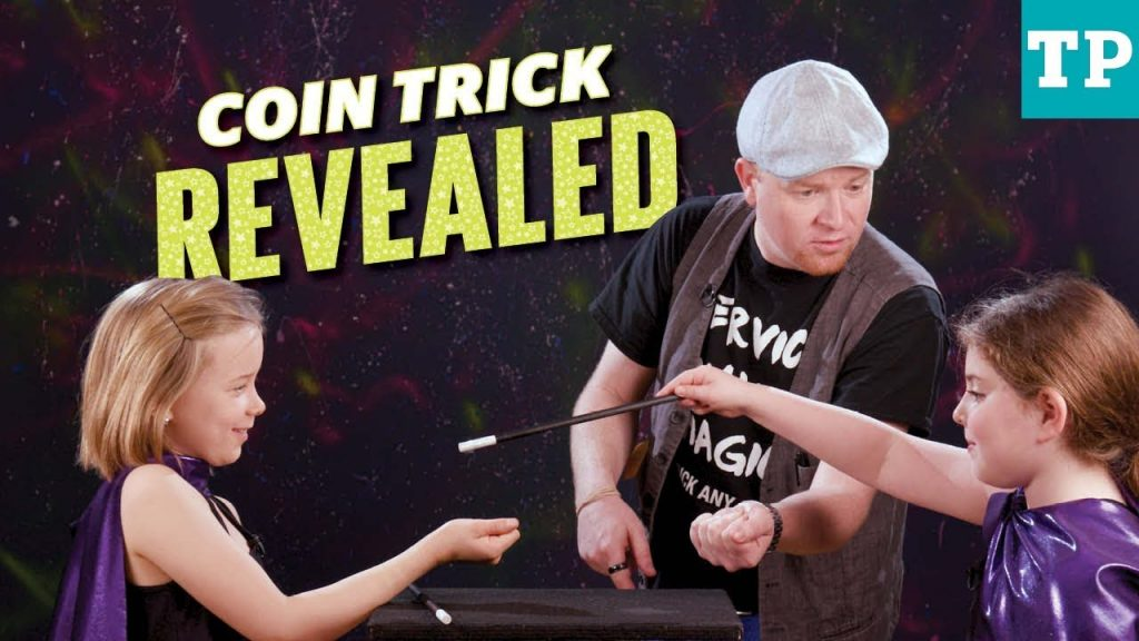 Magic trick: Easy coin trick for kids