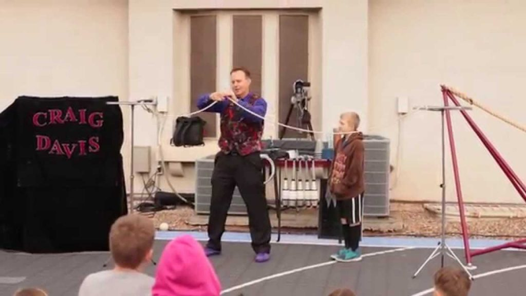Craig Davis Children's Magic and Juggling Show Reel