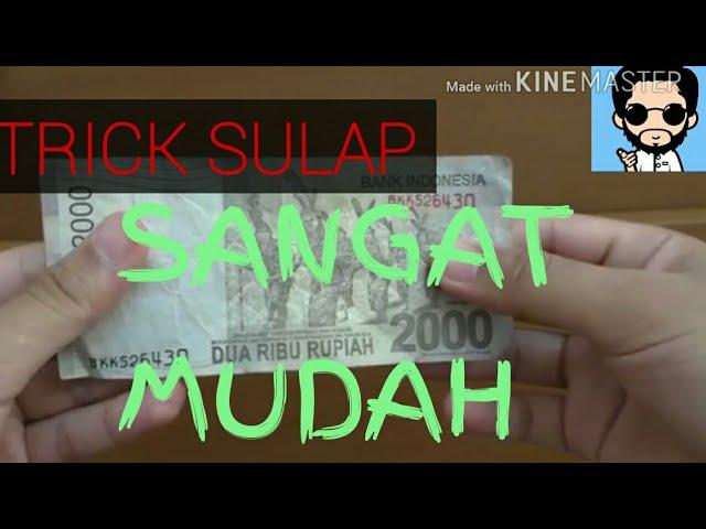 MAGIC TRICK SIMPLE WITH MONEY // TRICK SULAP DENGAN UANG YANG SANGAT MUDAH