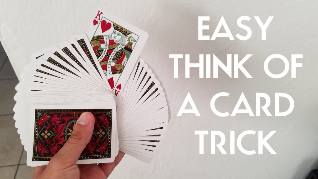 EASY THINK OF A CARD TRICK PigCake Tutorials