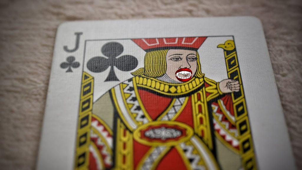 Happy VAMPIRE Card Trick