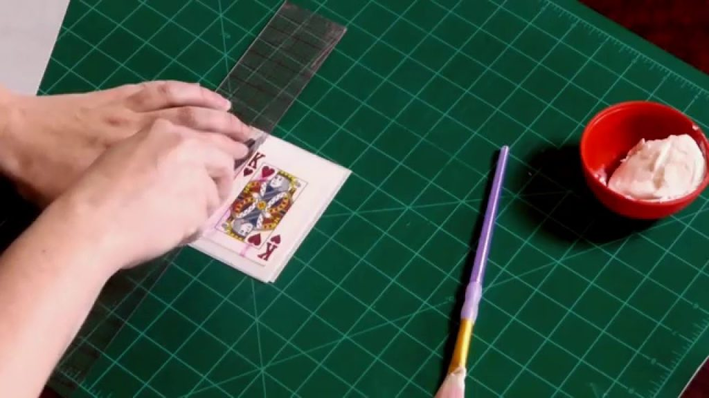 How to Make a Magic Hat Cake Floating CARDS