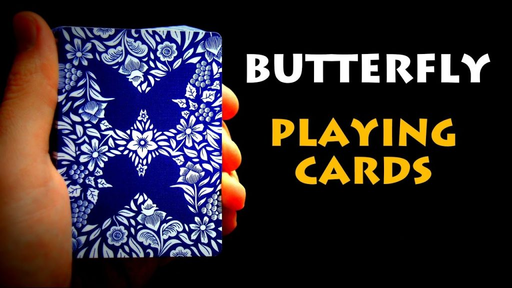 Butterfly playing cards review!