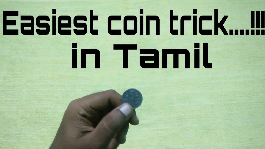 Easiest coin trick in tamil…!!