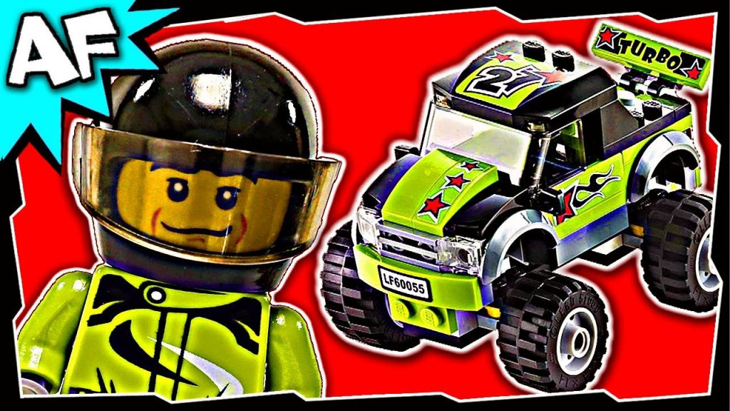 Lego City MONSTER TRUCK 60055 Stop Motion Build Review