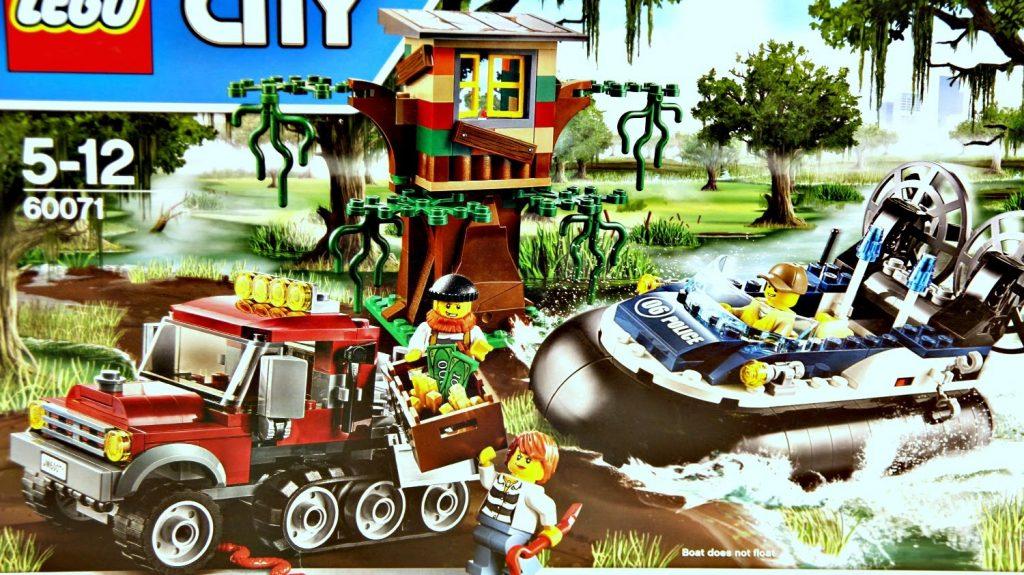 Hovercraft Arrest / Wielkie Zatrzymanie – Lego City – 60071 – Recenzja