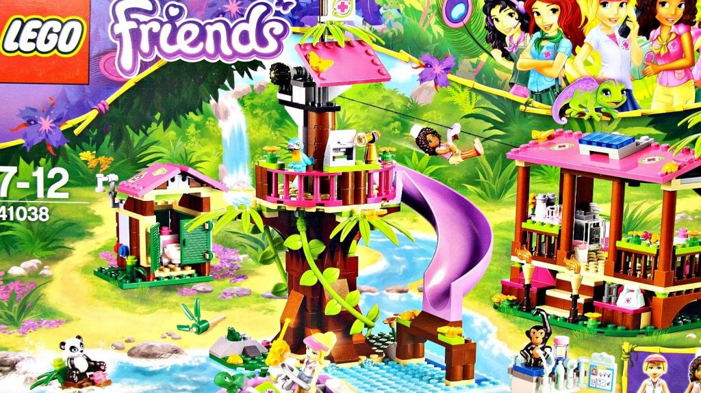 Jungle Rescue Base / Baza Ratunkowa 41038 – Lego Friends – Recenzja